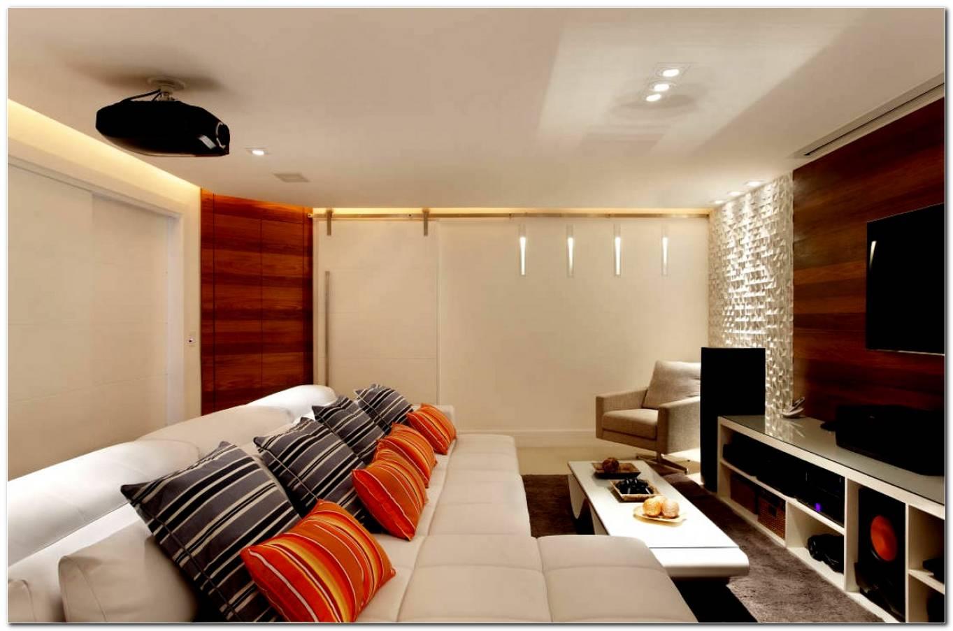Sala De Tv Tamanho Ideal