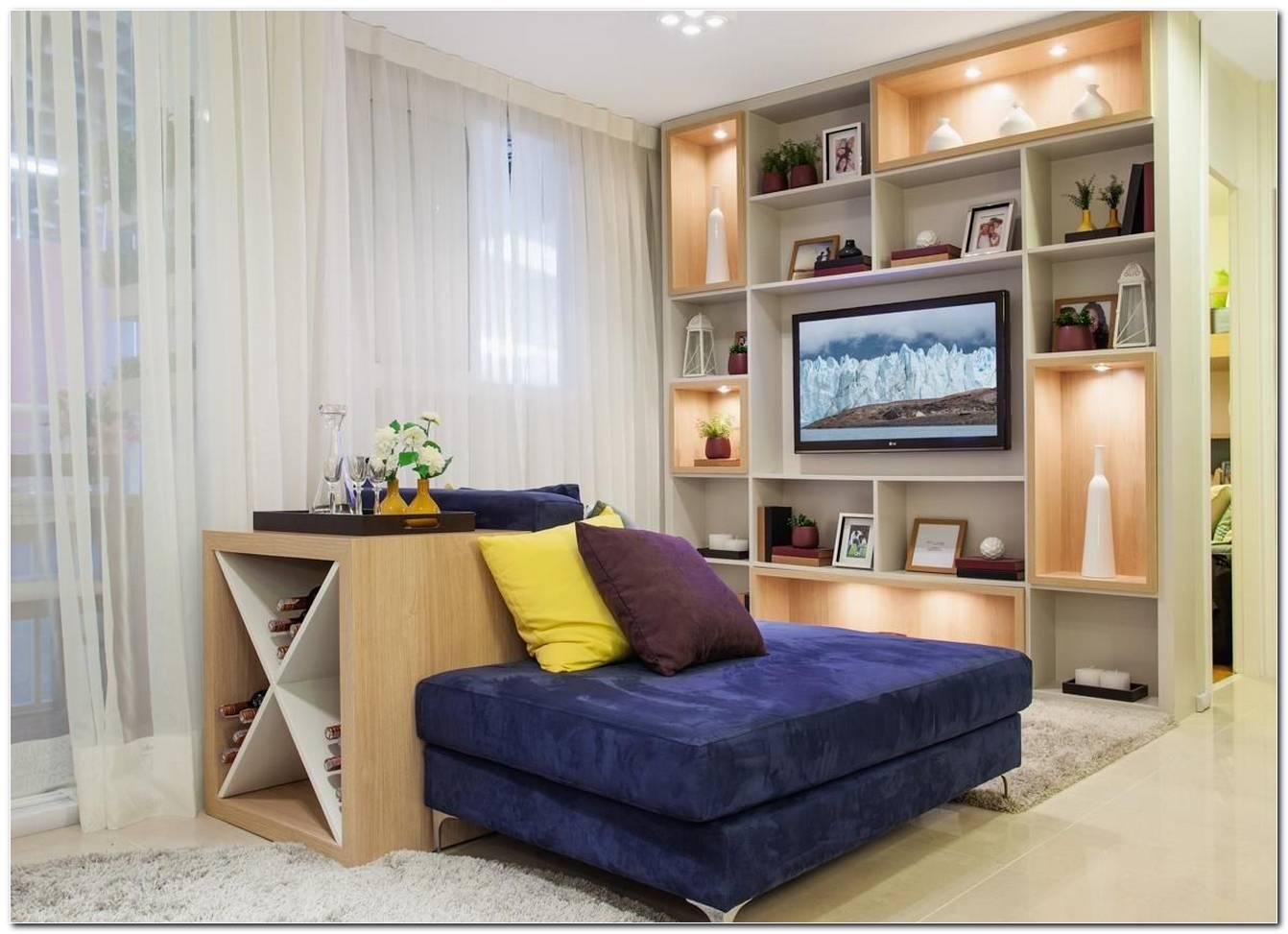 Sala Pequena Com Decoracao Simples