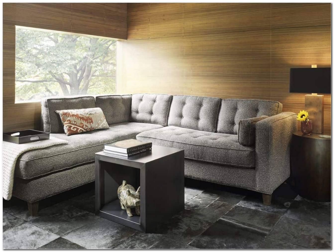 Sala Pequena Com Sofa De Canto