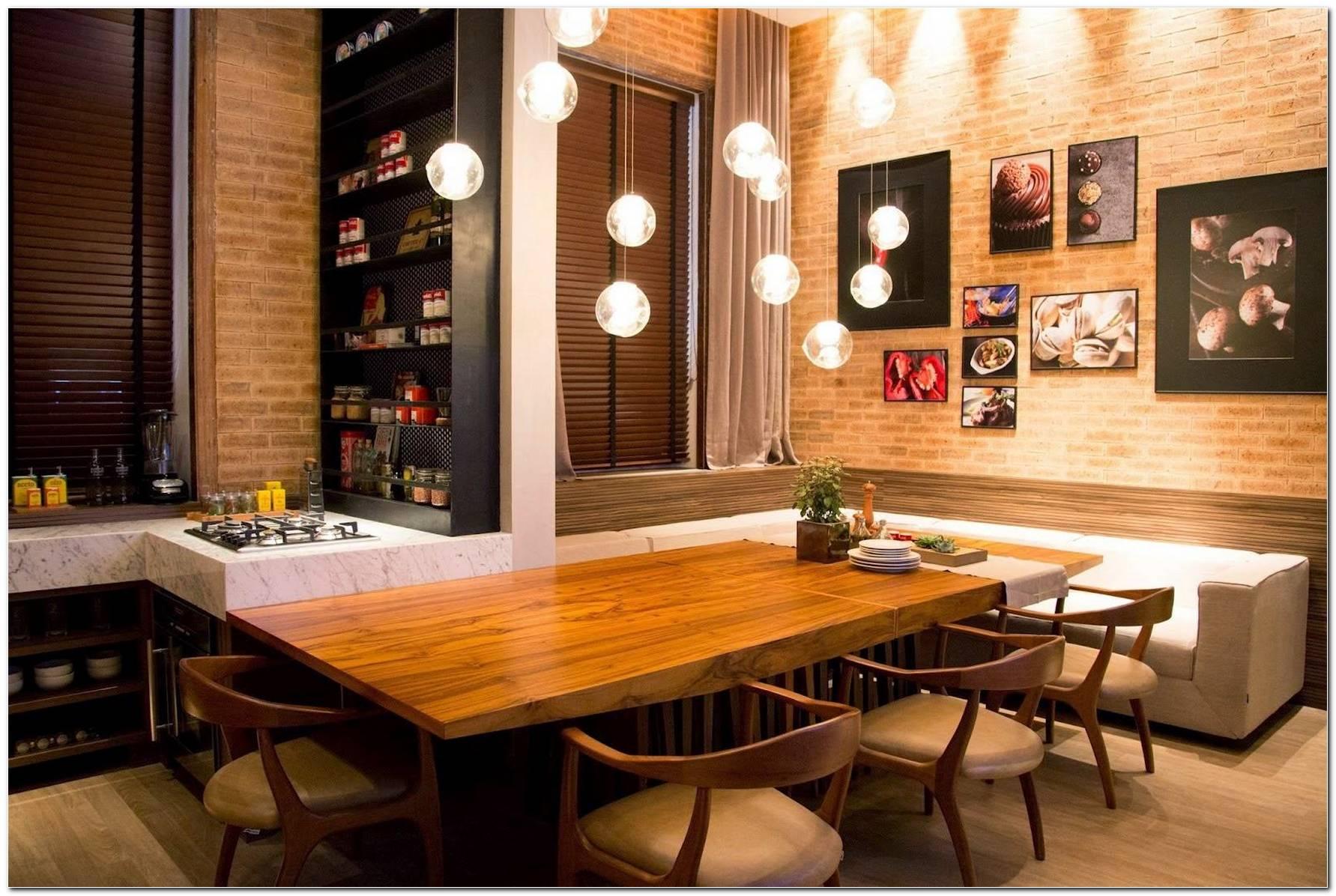 Sala Pequena Com Sofa E Mesa De Jantar 2