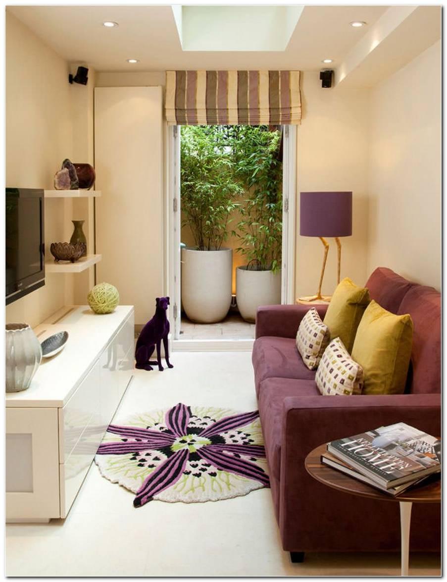 Sala Pequena Com Um Sofa