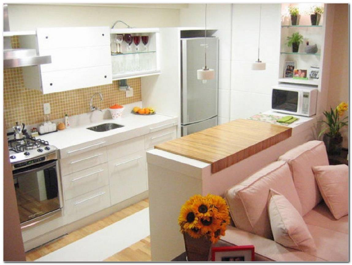 Sala Pequena Cozinha Americana Decoracao