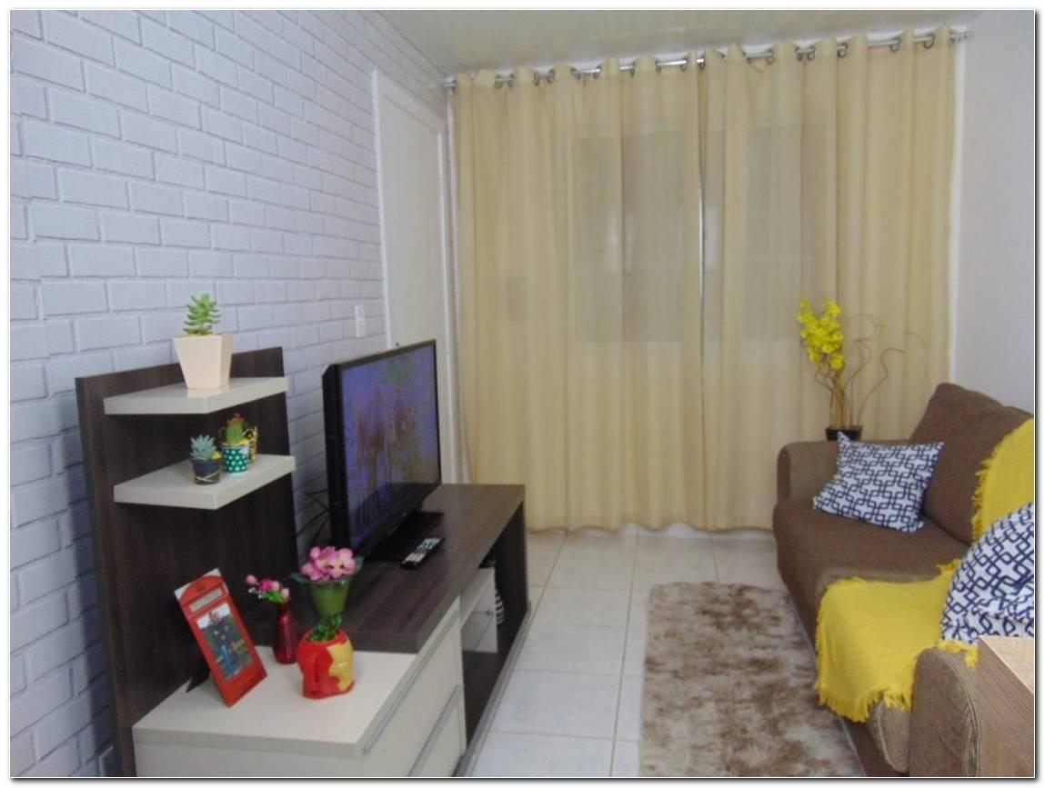 Sala Pequena Decorada E Simples