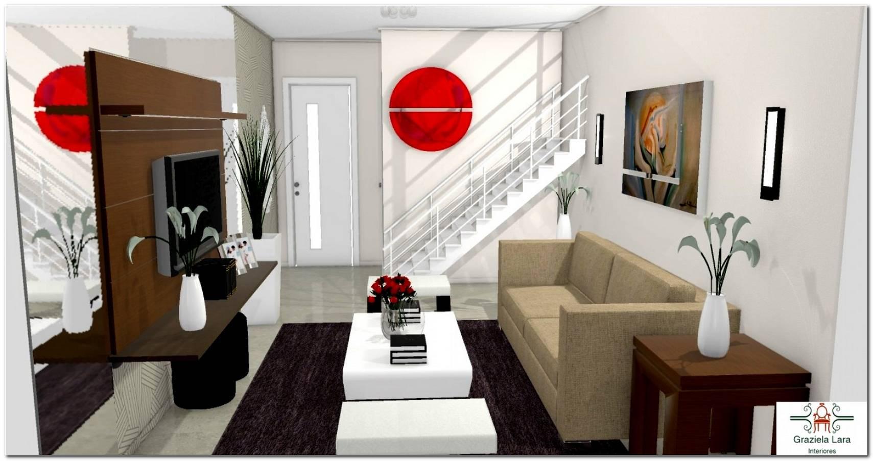 Sala Pequena Mobiliada
