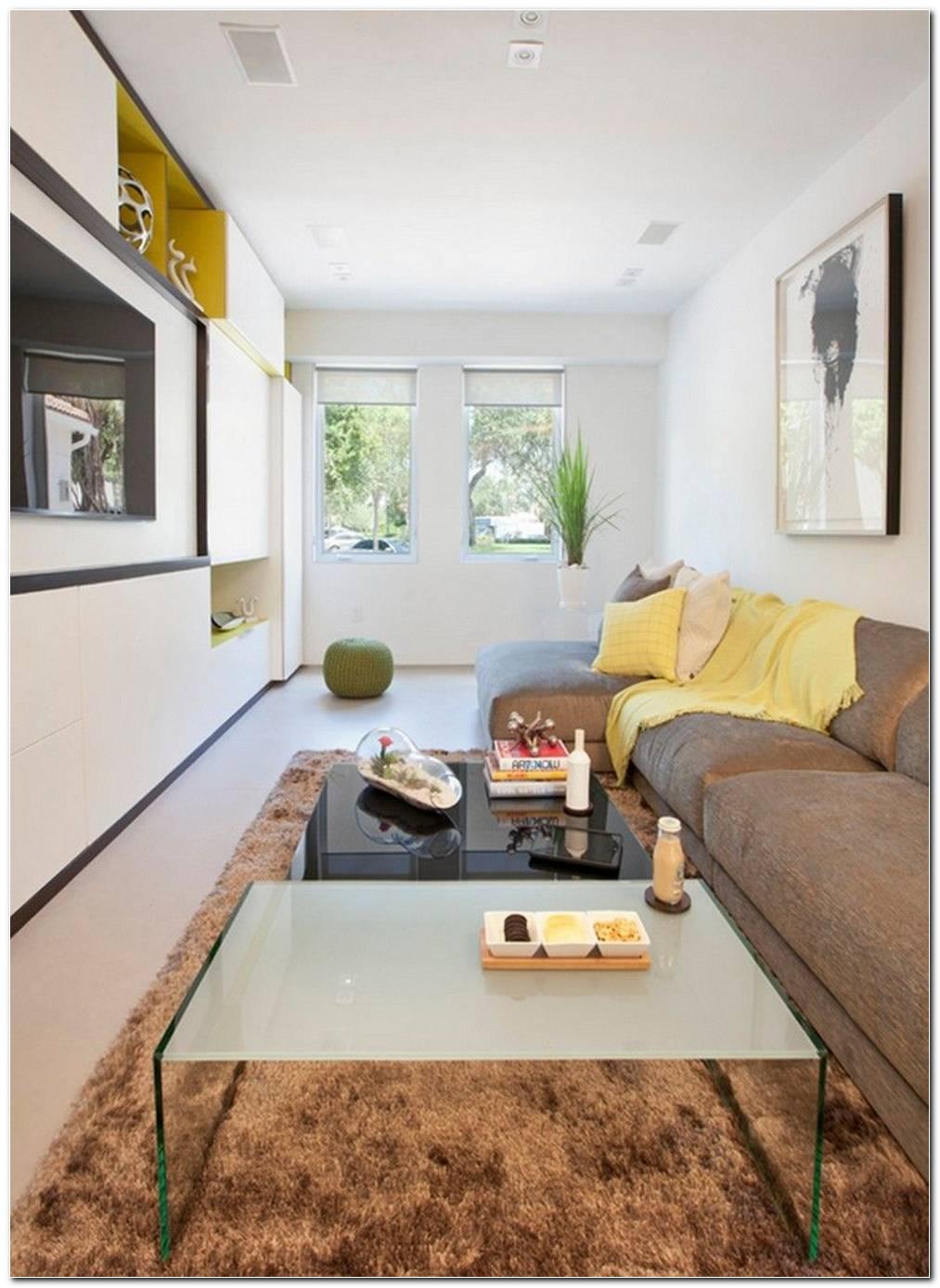 Sala Pequena Moderna Apartamento