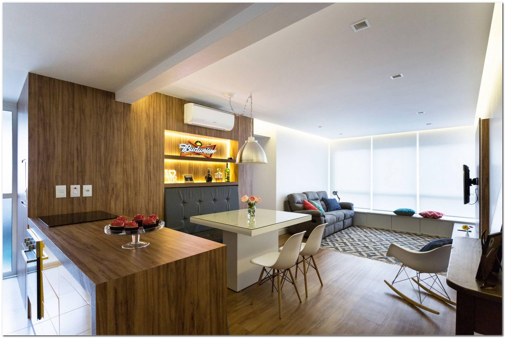 Sala Pequena Para Dois Ambientes