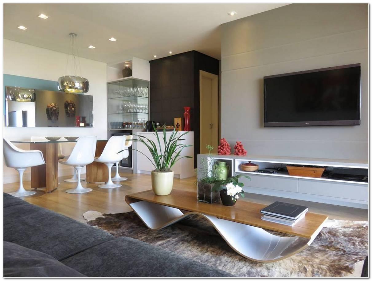 Sala Pequena Simples E Moderna
