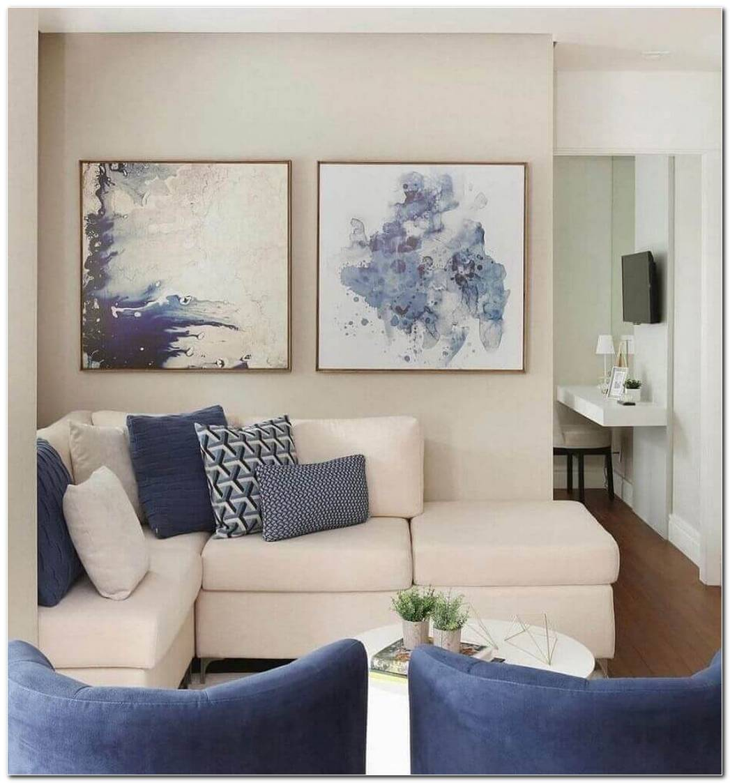 Sala Pequena Sofa De Canto