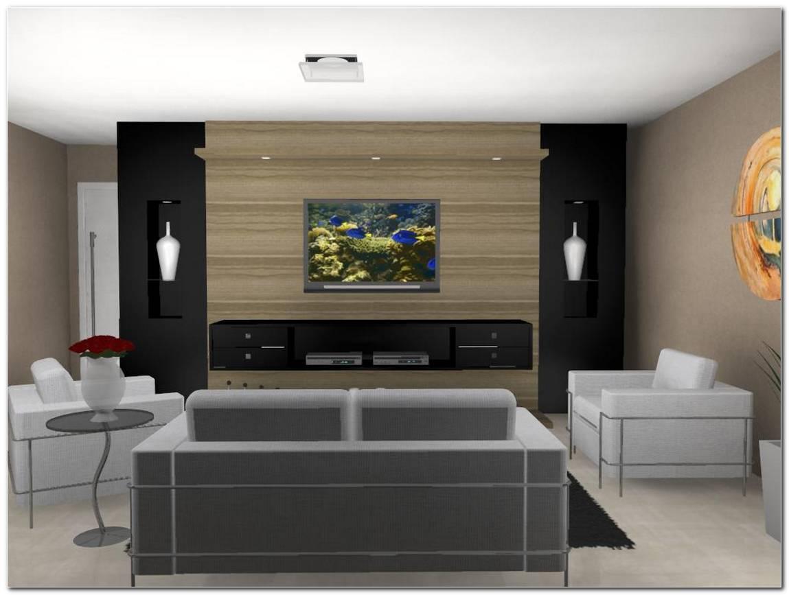 Sala Tv Pequena Planejada