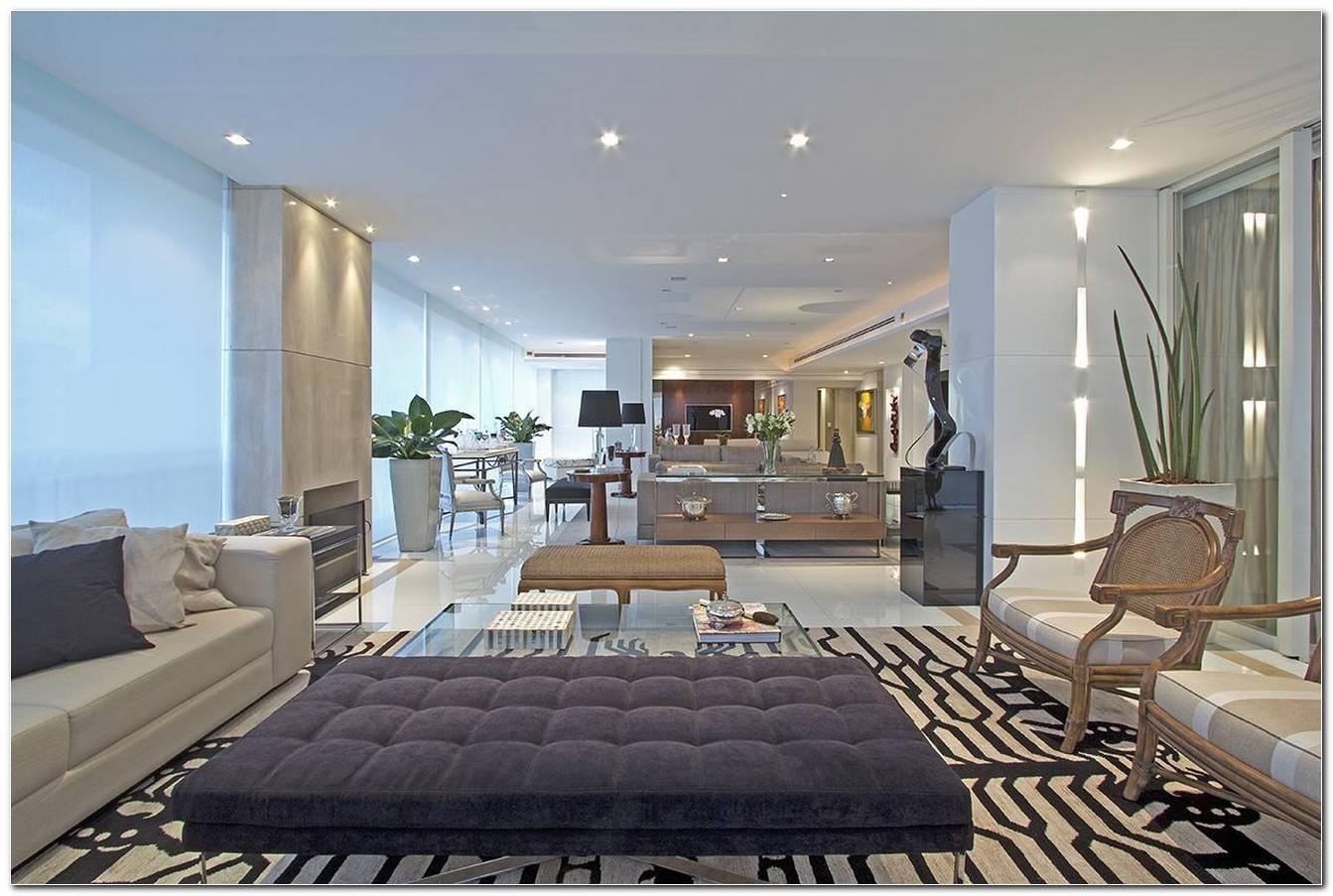 Salas De Estar Luxuosas E Modernas