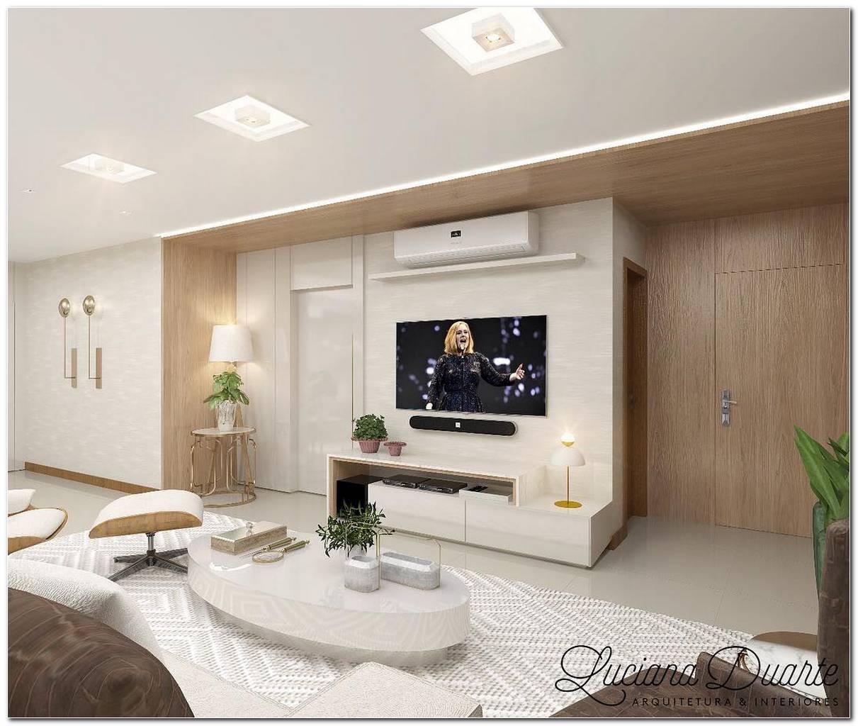 Salas De Tv Decoradas 115 Projetos Para Acertar Na Decoração