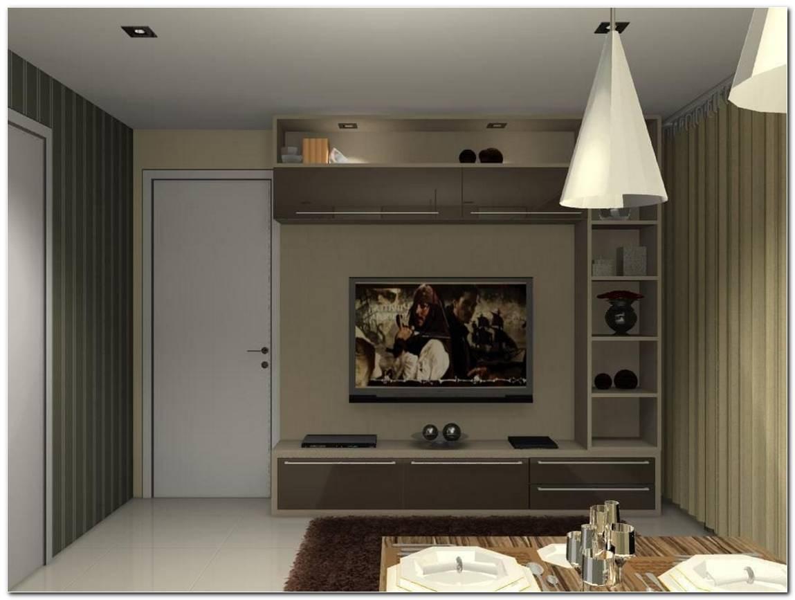Salas De Tv Pequenas E Simples