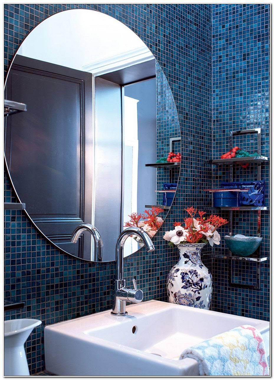 Salle De Bain Mosaique Bleu