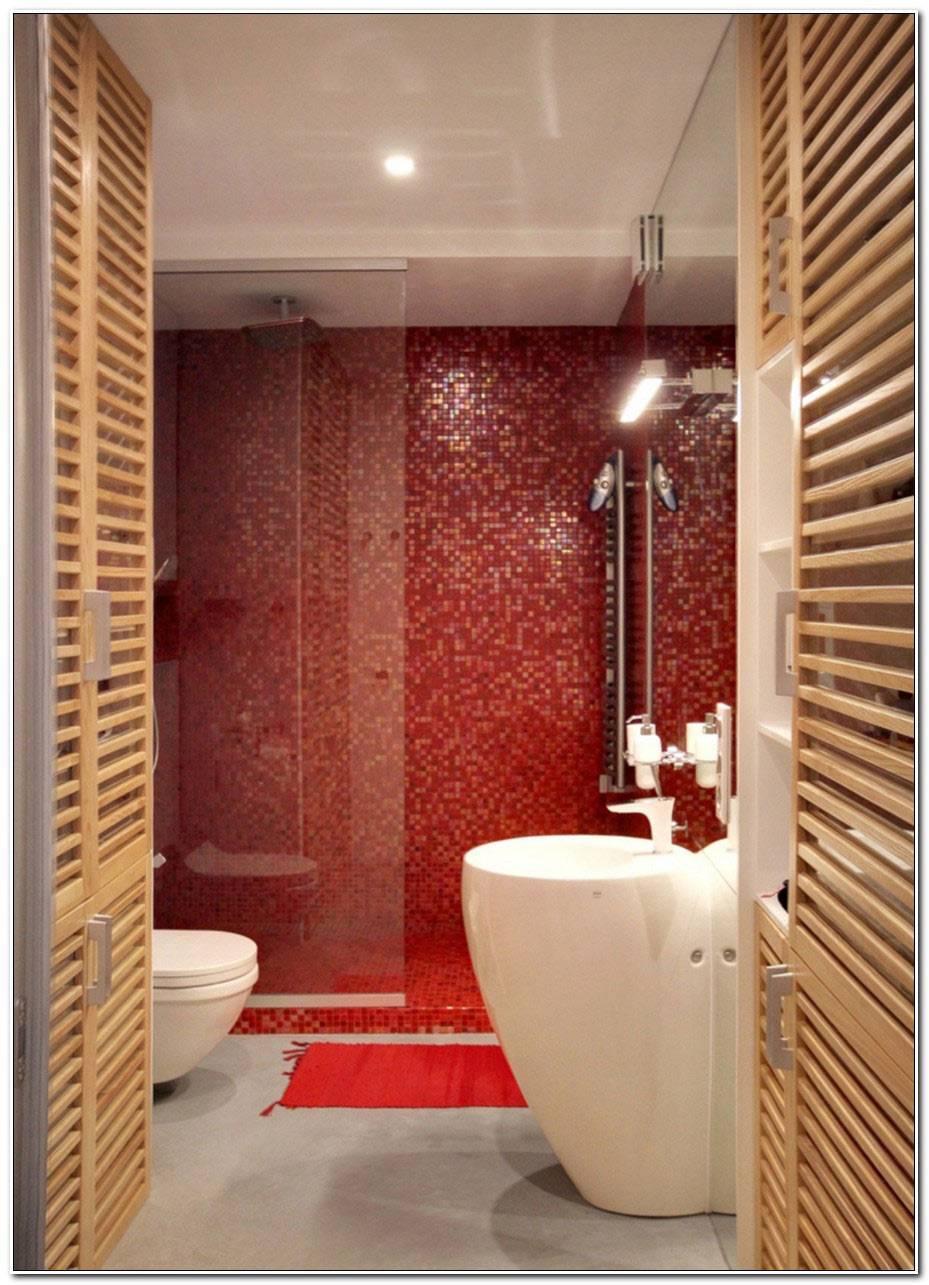 Salle De Bain Mosaique Rouge