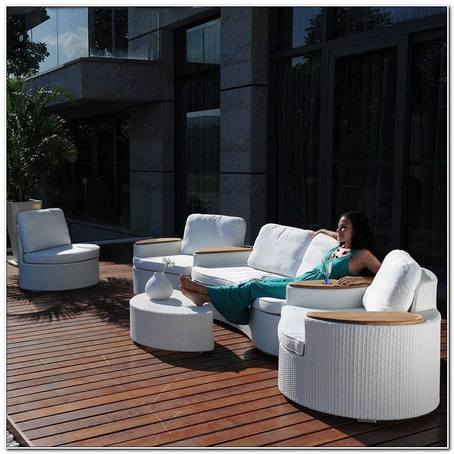 Salon De Jardin Design Arrondi