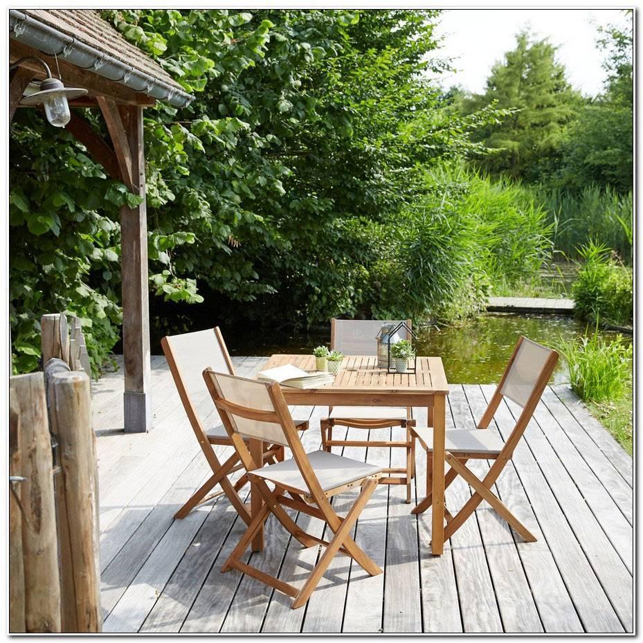 Salon De Jardin En Bois D Acacia