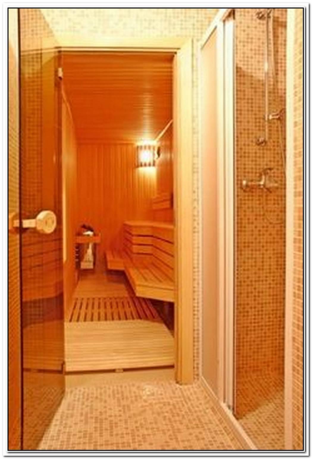 Sauna Bathroom Closet