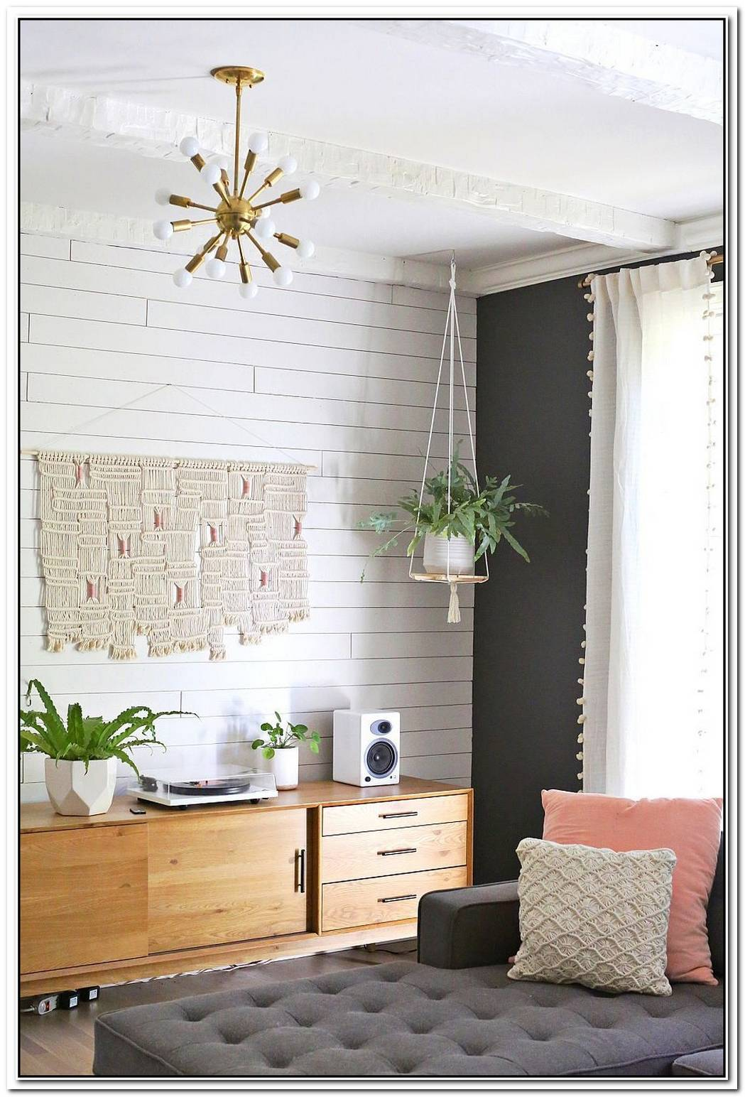 Saving Floor Space10 Stylish DIY Hanging Shelf Ideas