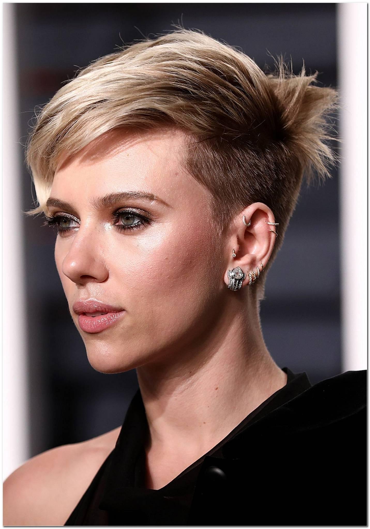 Scarlett Johansson Frisuren 2017