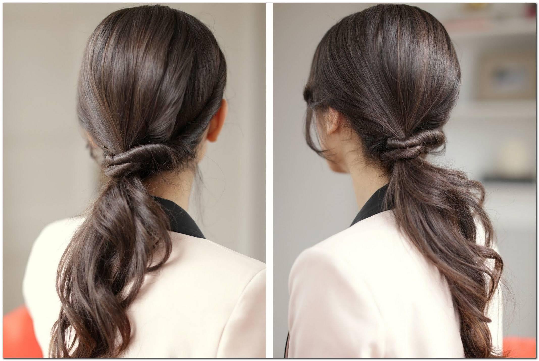 SchöNe Einfache Frisuren FüR Den Alltag