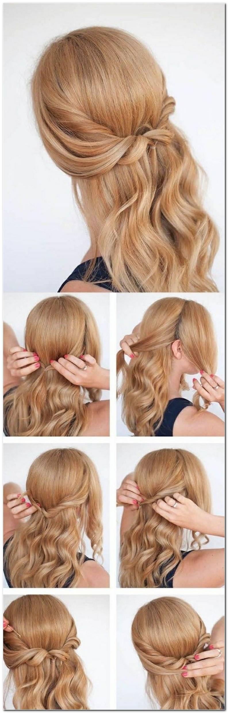 SchöNe Einfache Frisuren Schulterlanges Haar
