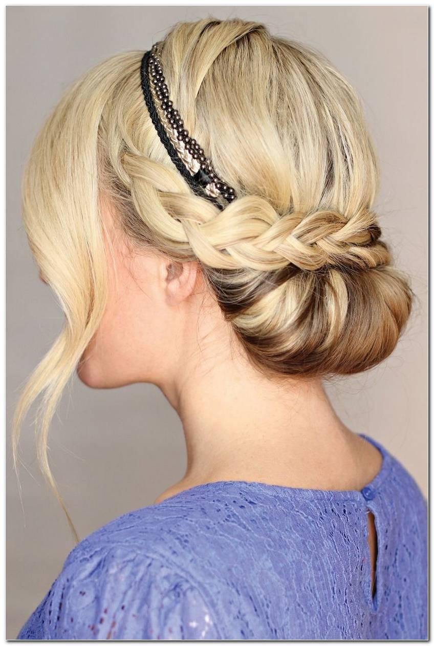 SchöNe Frisuren Mit Blumen Haarband