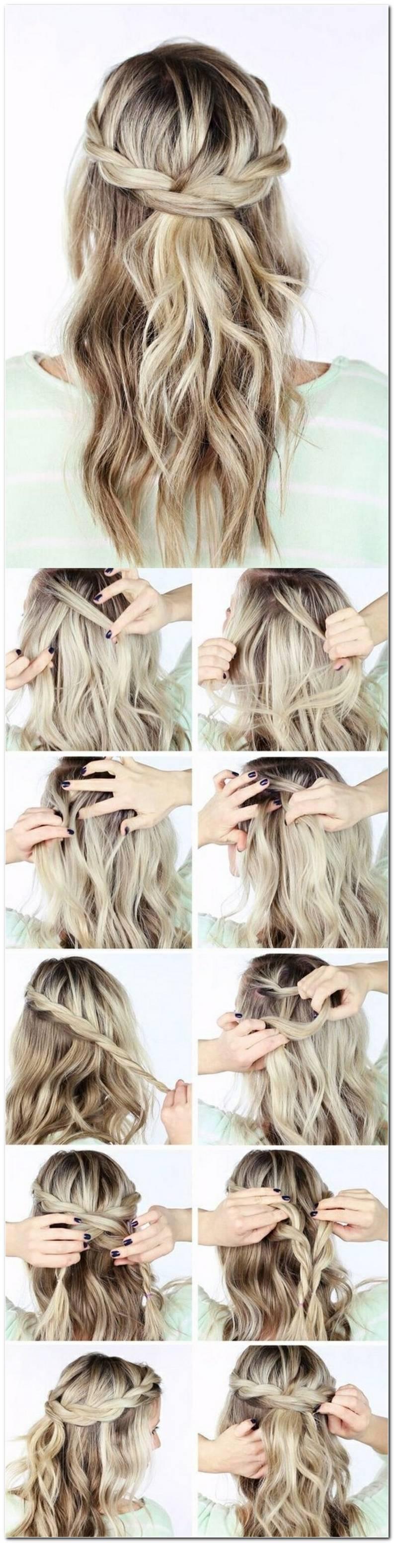 SchöNe Frisuren Mit Offenen Haaren Zum Selber Machen