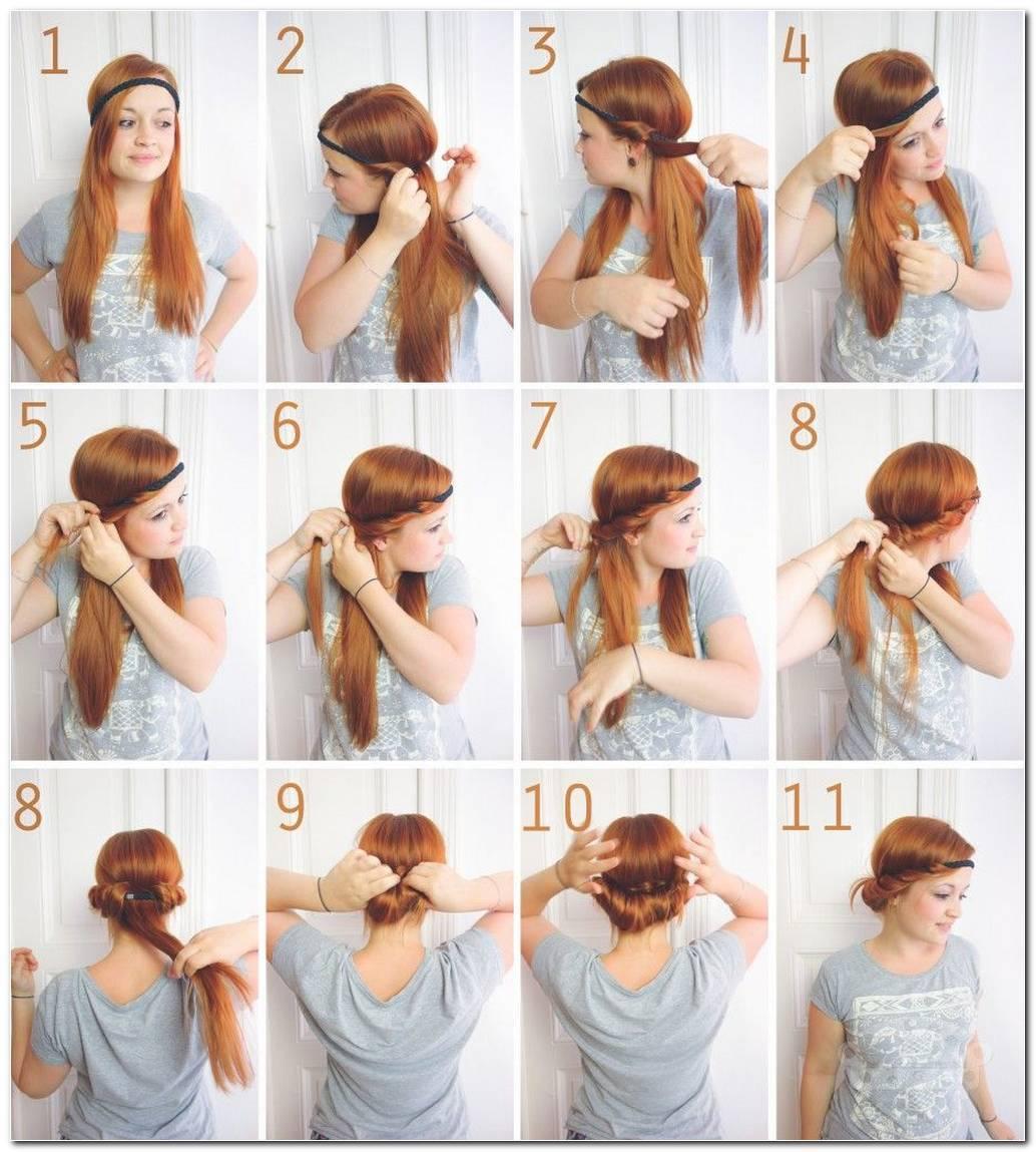 SchöNe Frisuren Schnell Und Einfach Gemacht