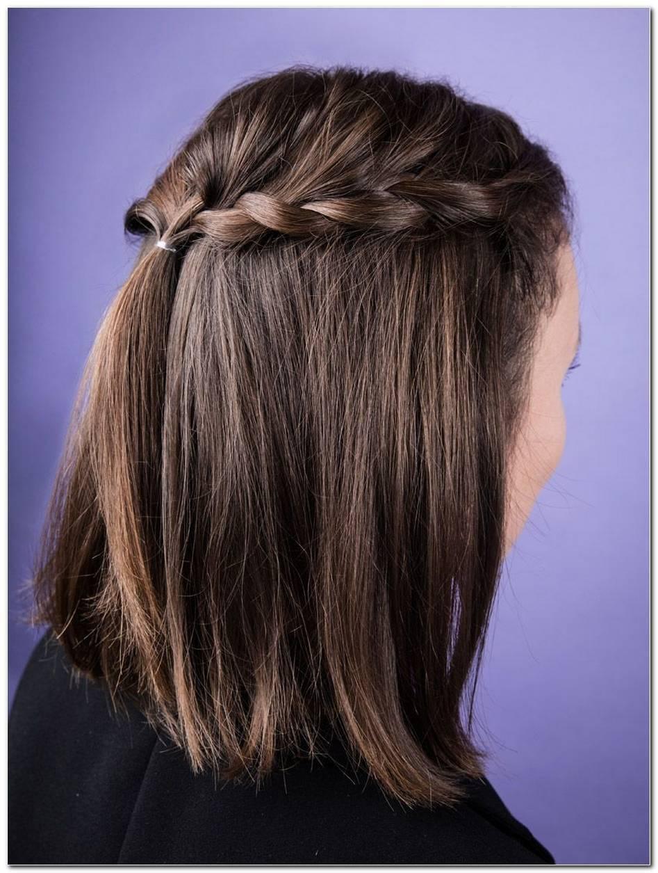 SchöNe Und Einfache Frisuren FüR Kurze Haare