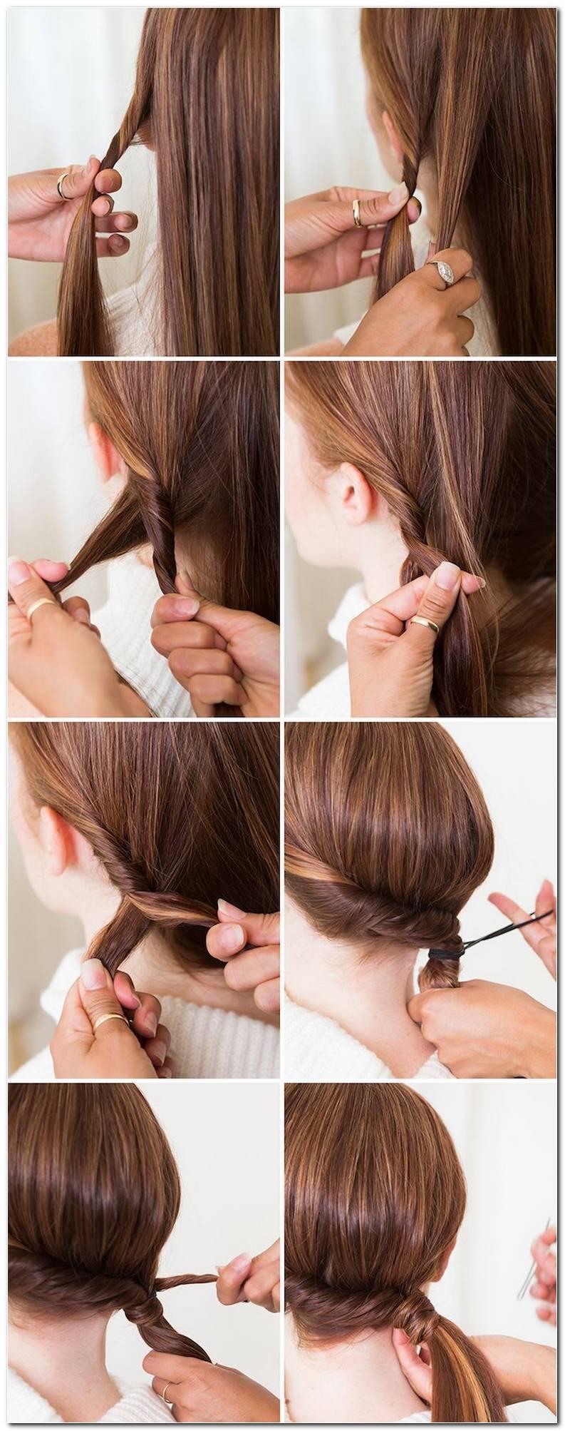 Schnell Frisuren FüR Den Alltag Lange Haare