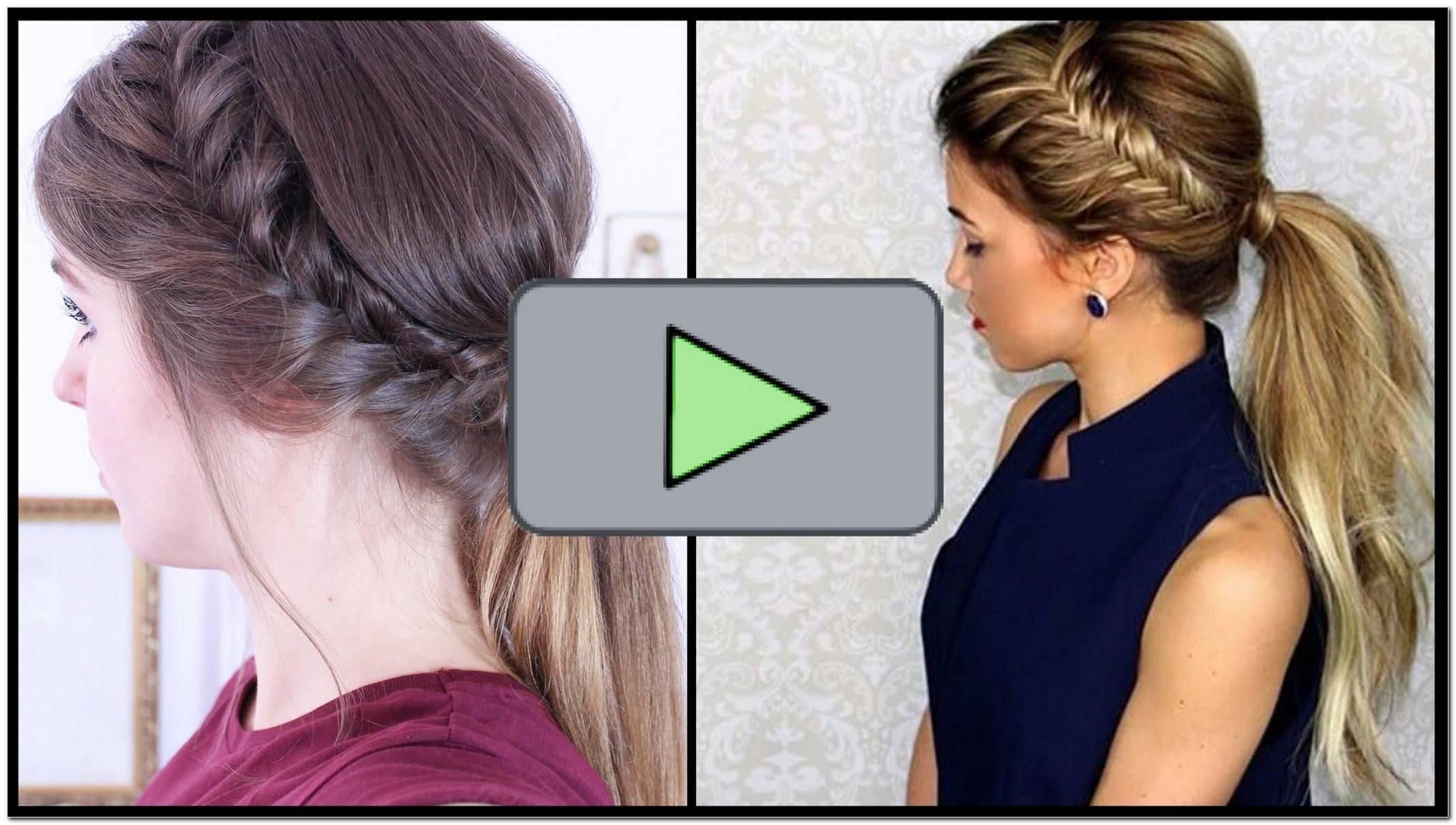 Schnelle Einfache Frisur