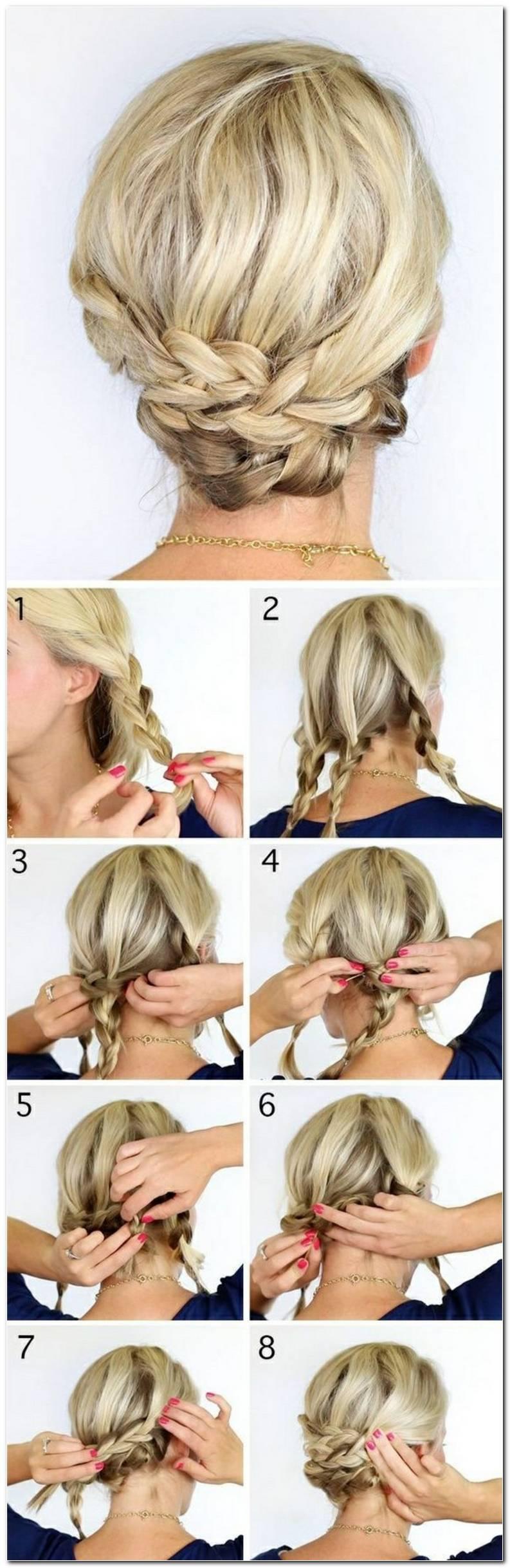 Schnelle Einfache Frisuren FüR Mittellange Haare