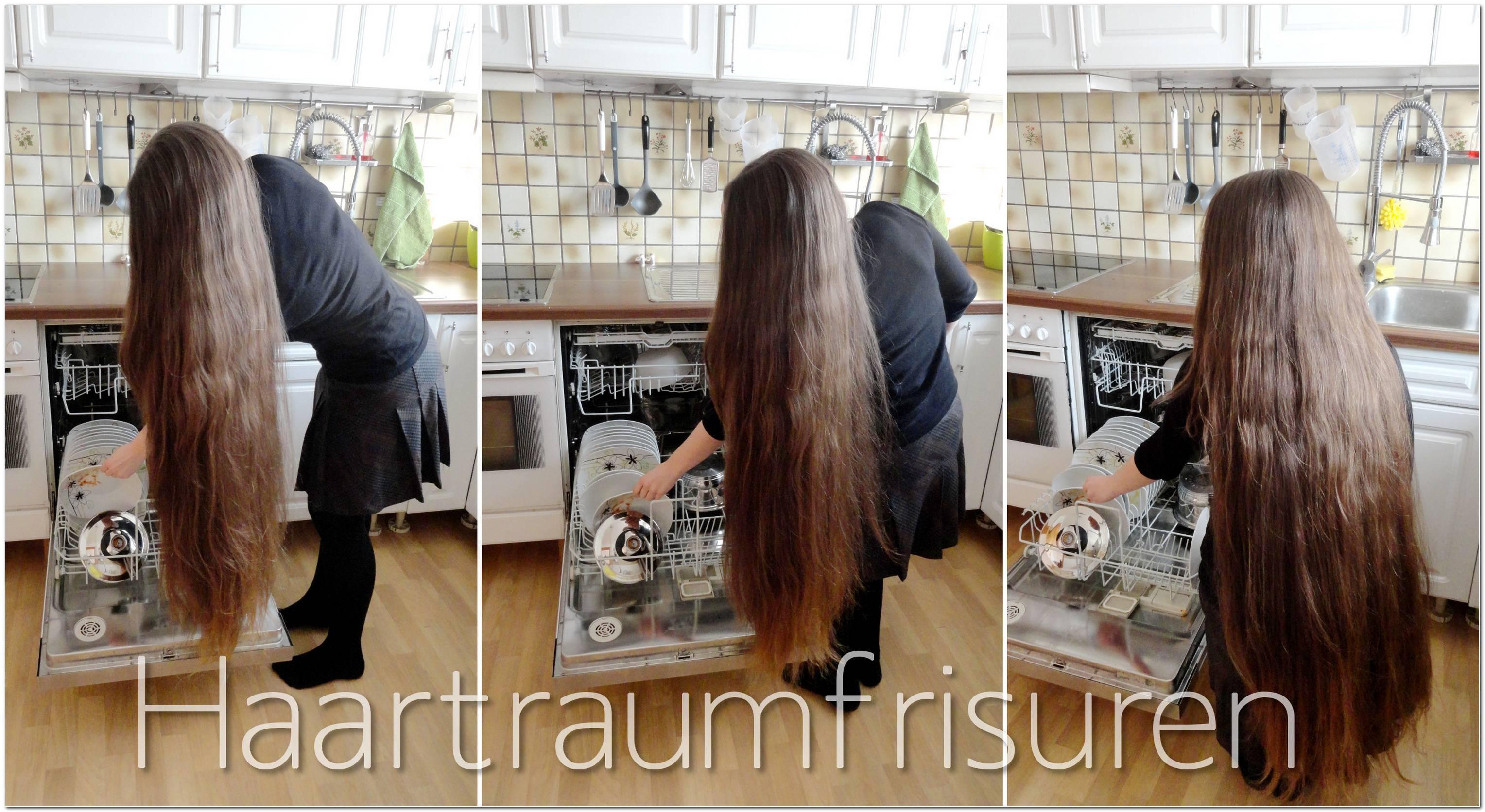 Schnelle Frisuren Lange Haare Alltag