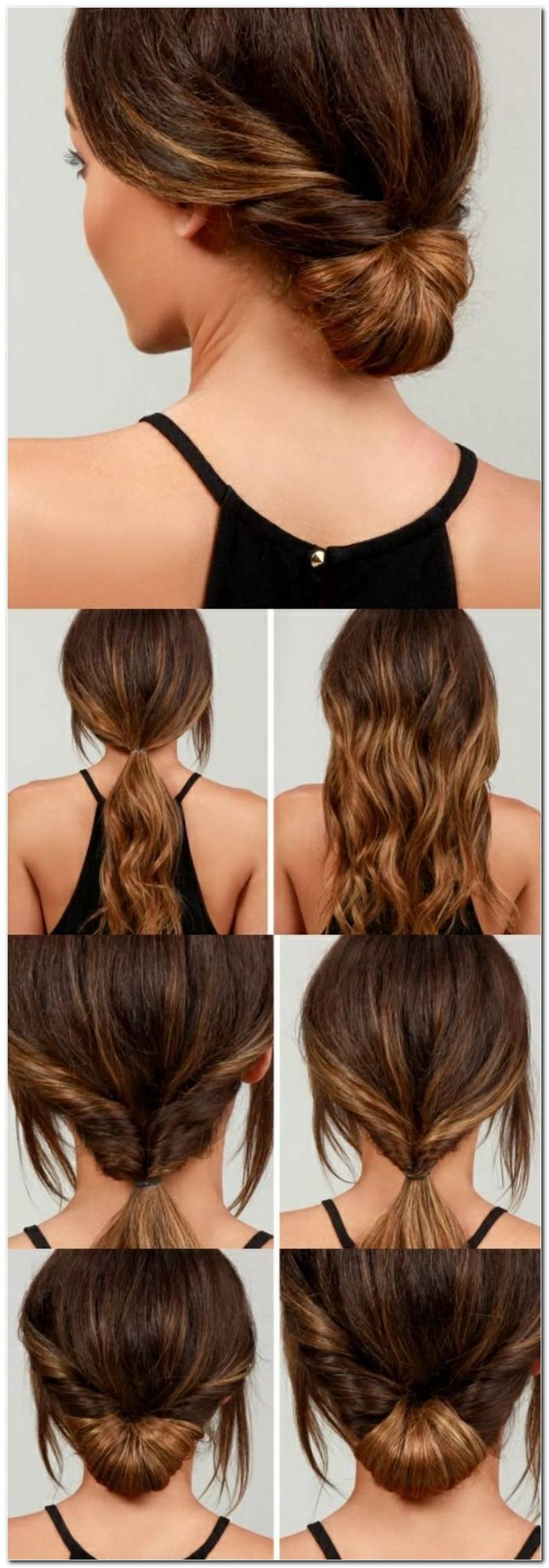 Schnelle Frisuren Lange Haare Zum Selber Machen