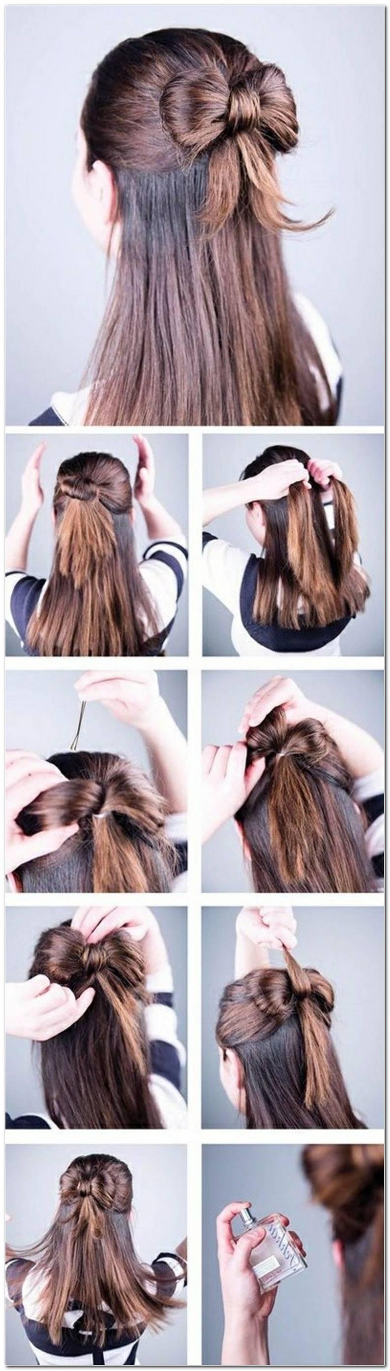Schnelle SchöNe Frisuren Selber Machen