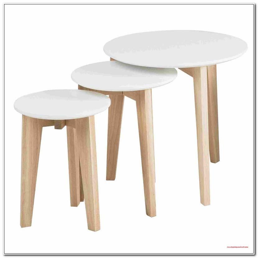 Select Beistelltisch Weiß Holz