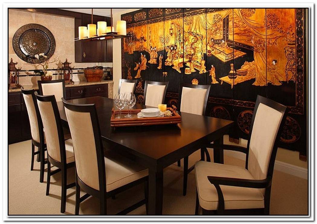 Serene And Practical40 AsianStyle Dining Rooms