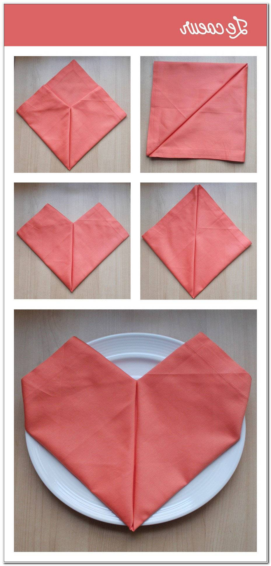 Serviette De Table Pliage