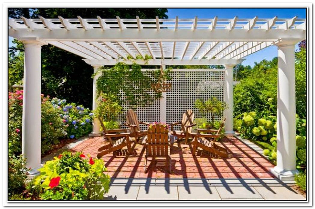 Shaded To PerfectionElegant Pergola Designs For The Modern Home