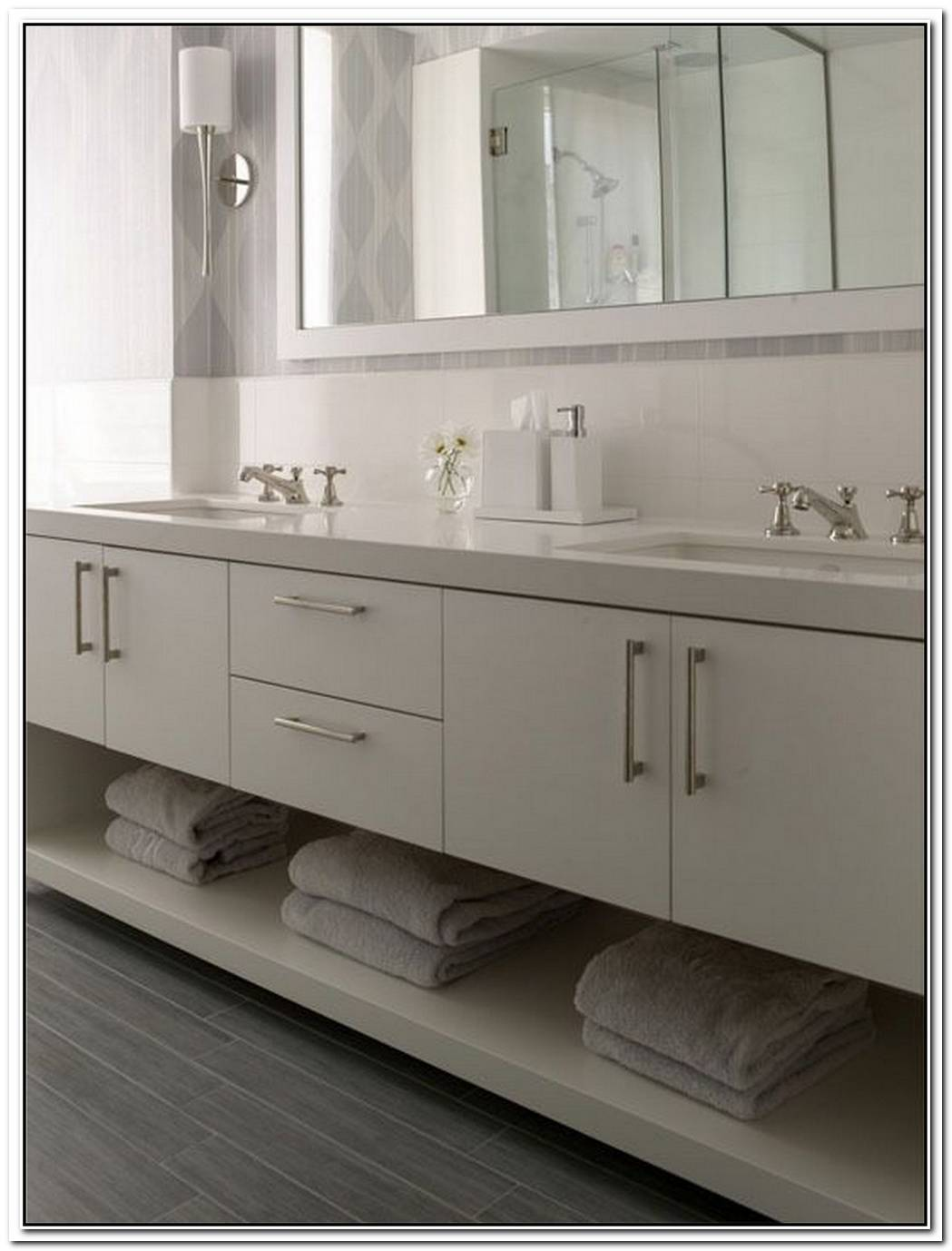 Shelf Bathroom Modern Vanity Bathroom