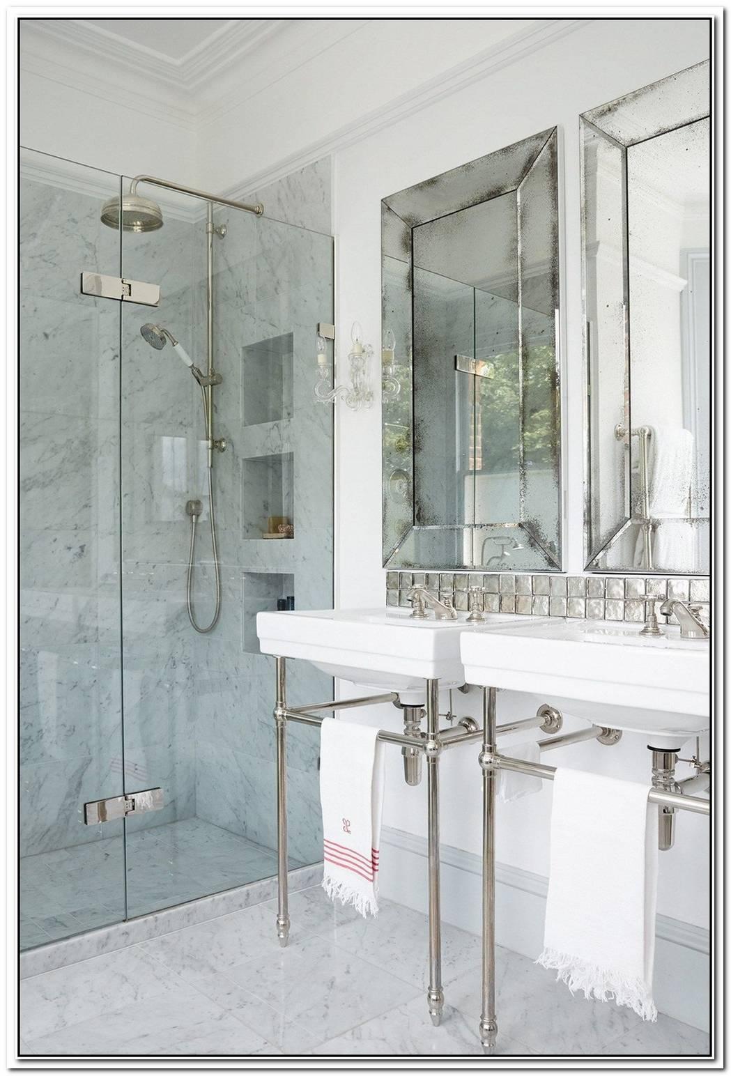 Shower Bathroom Small Marble