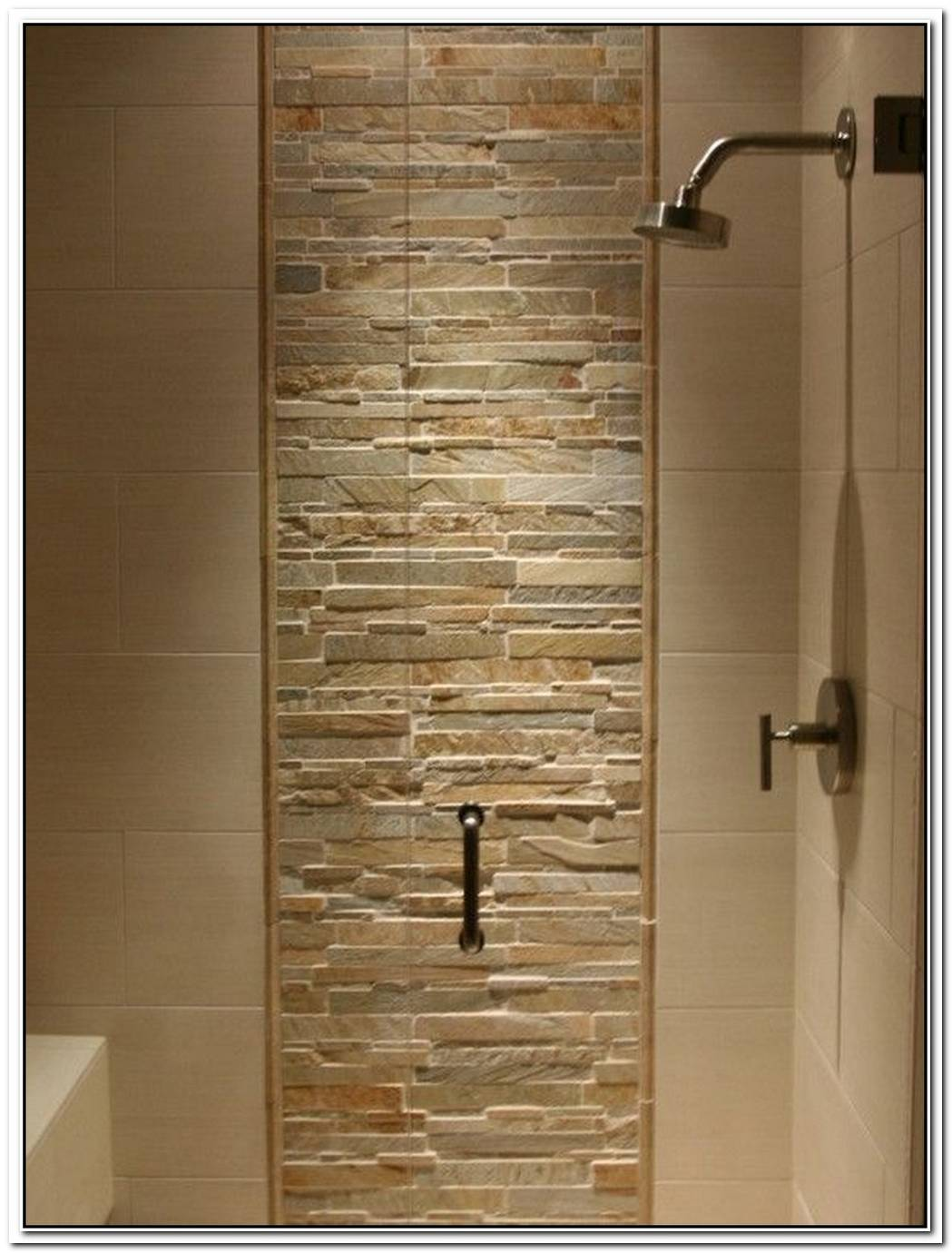 Shower Mountain Bathroom Modern