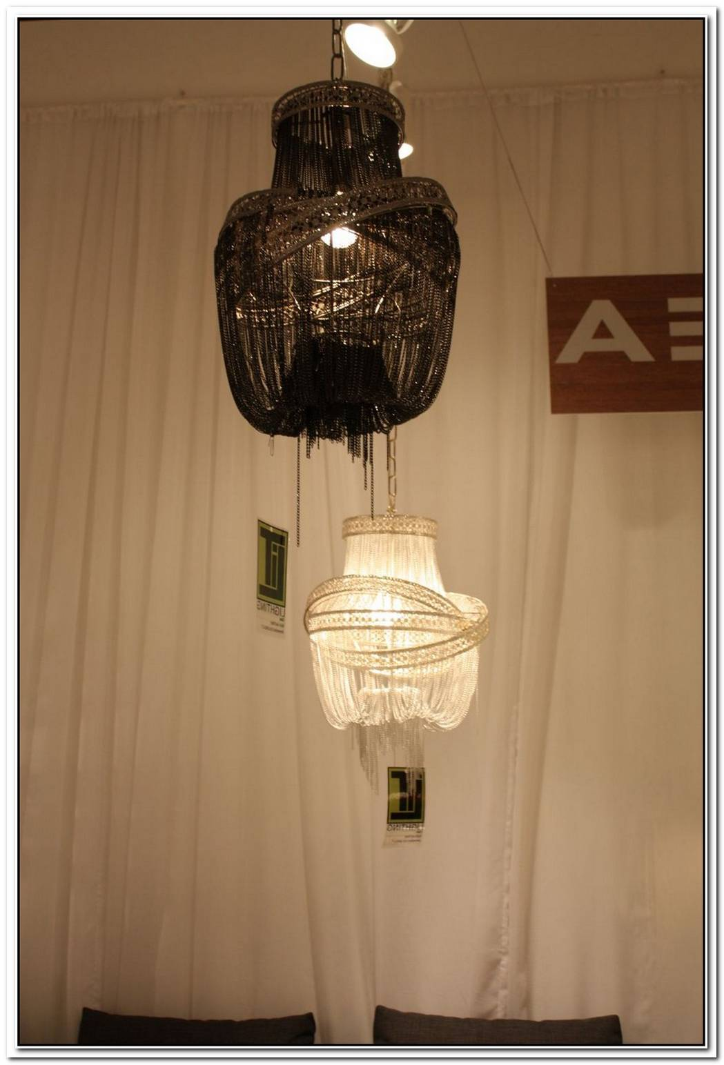 Simple And Chic Orbit 7 Chandelier
