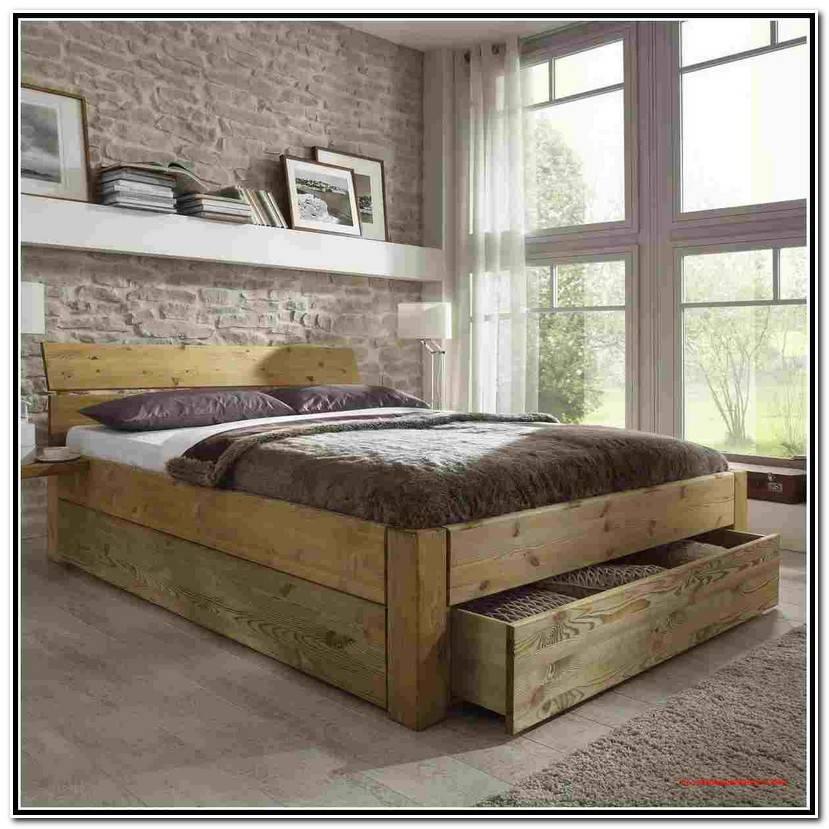 Simple Bett 140×200 Holz