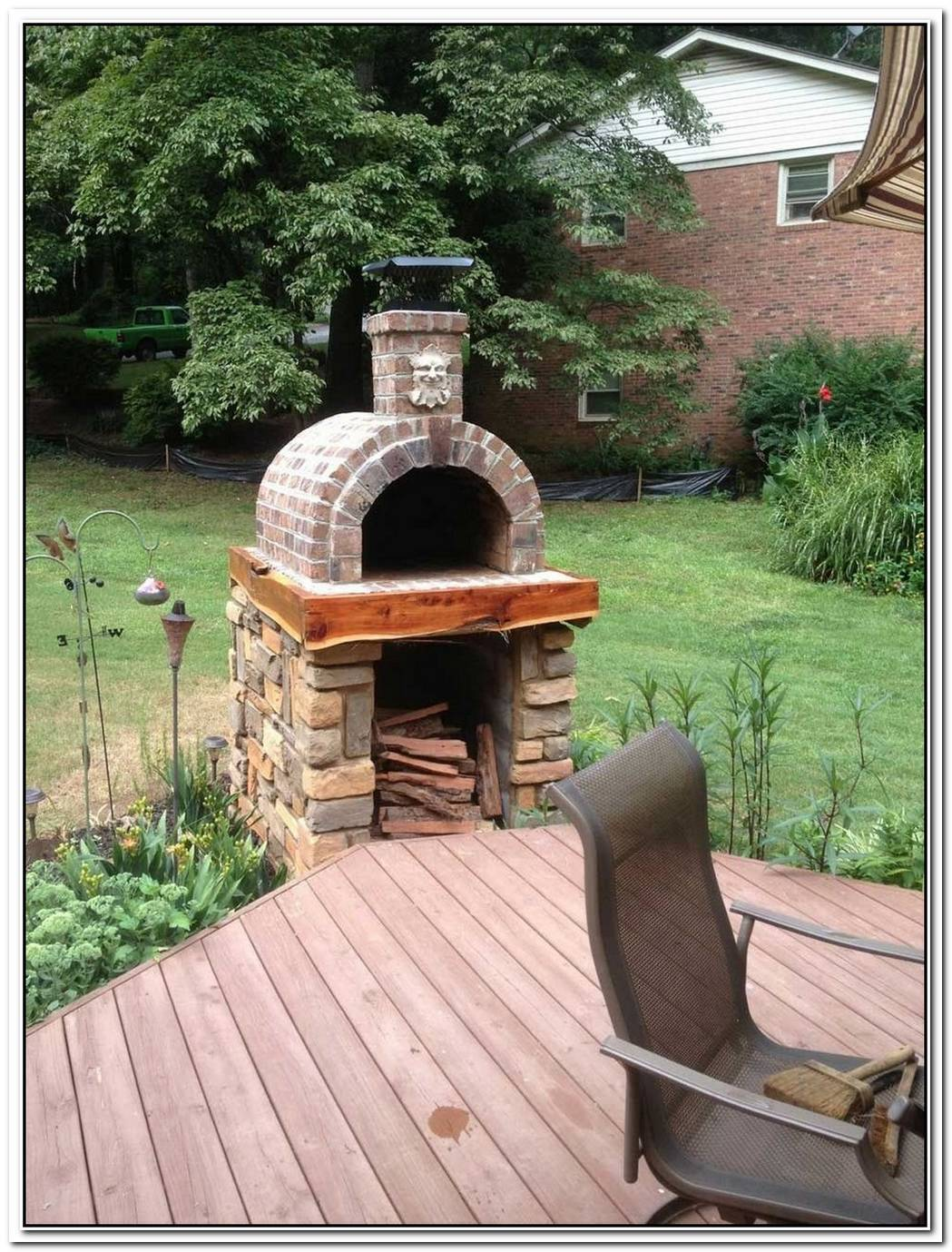 Simple Diy Brick Pizza Oven