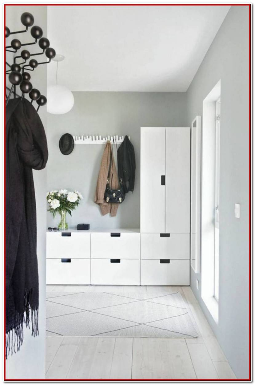 Simple Garderoben Ideen Für Kleinen Flur