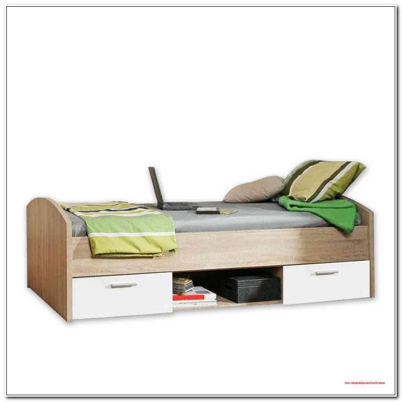 Simple Kinderbett 90×200 Mit Rausfallschutz