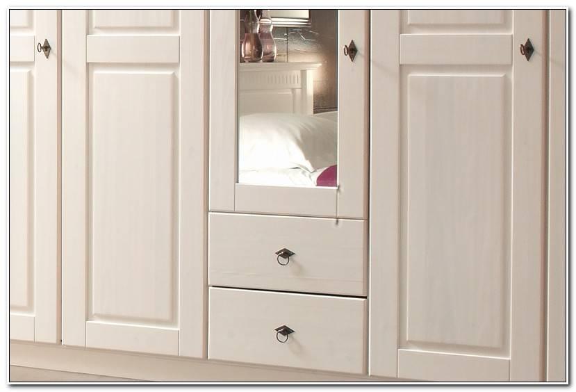 Simple Kleiderschrank Kiefer Weiß