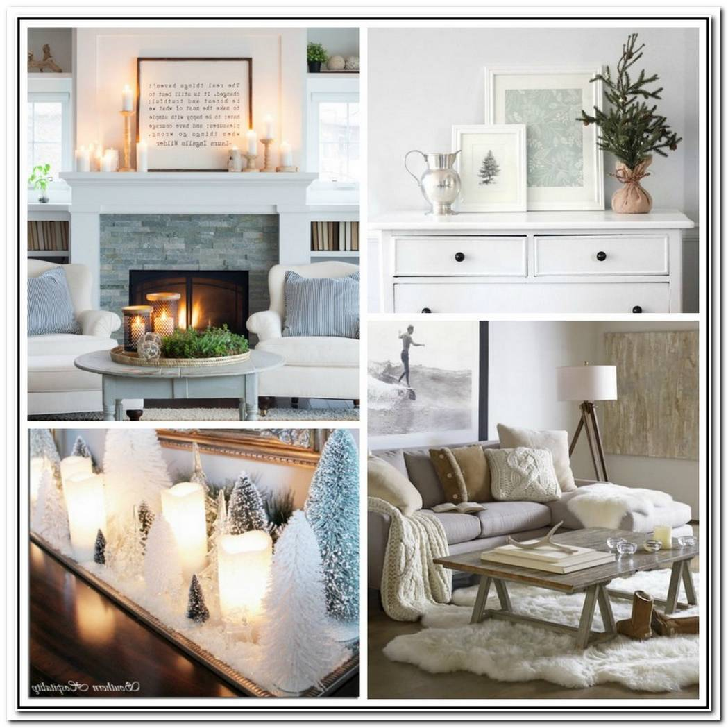 Simple Seasonal Decor Changes For Winter