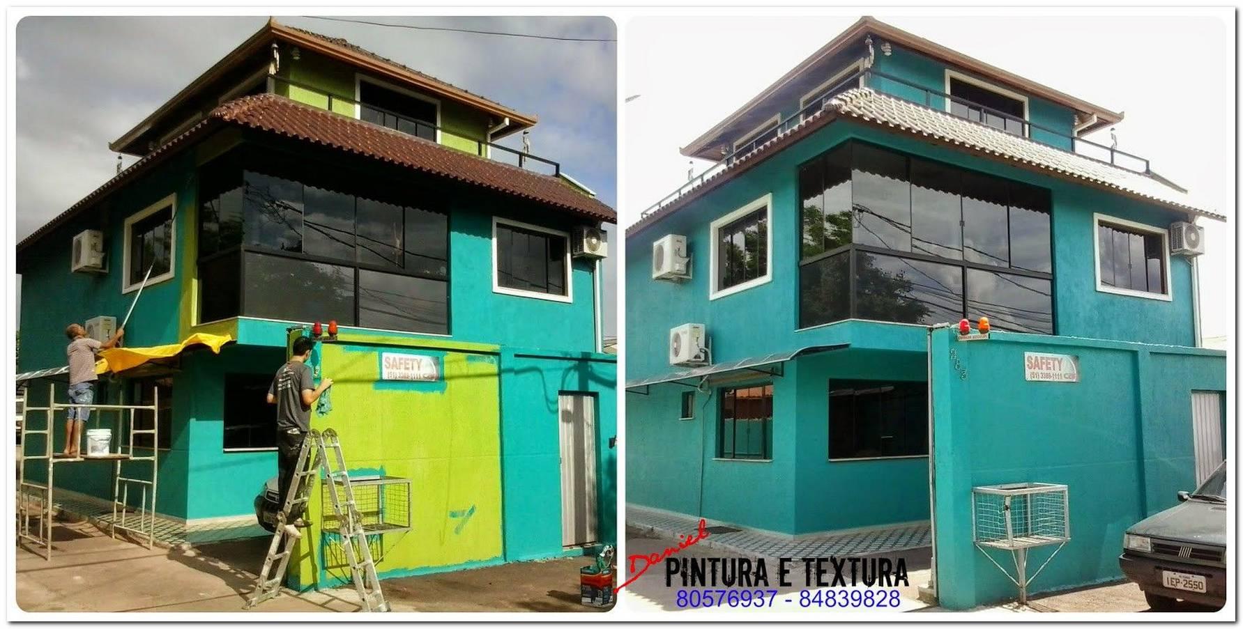 Simulação De Pintura De Casas Externa
